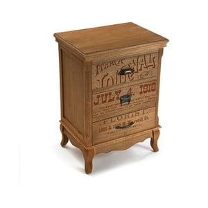 Dřevěná komoda se 4 šuplíky Versa Riano