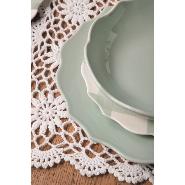 Sada 6 talířů Conchita Verde