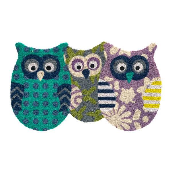 Preș Hamat Owls Friends II, 45x75cm