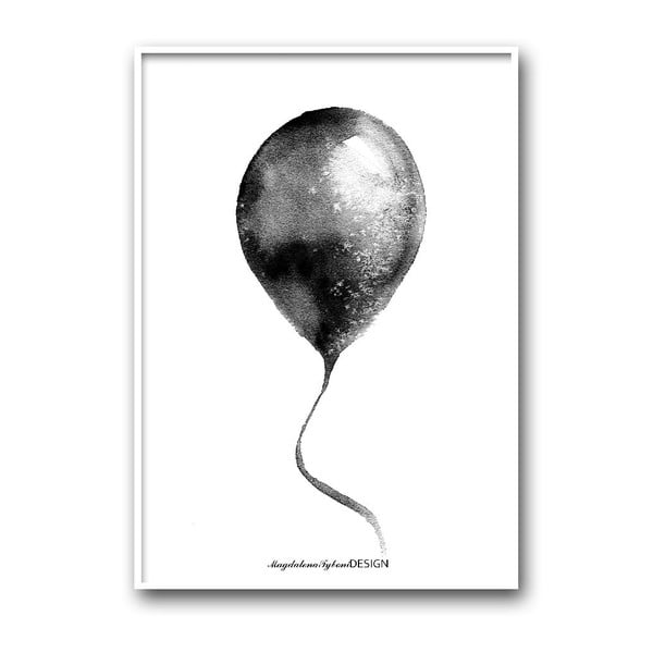Autorský plakát Ballong, 30x40 cm