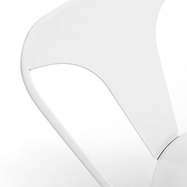 Sada 4 bílých židlí La Forma Malibu
