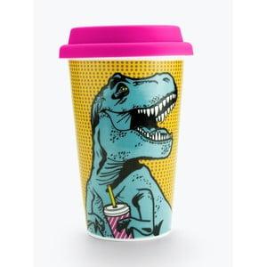 Keramický cestovní hrnek Just Mustard T-Rex,400ml