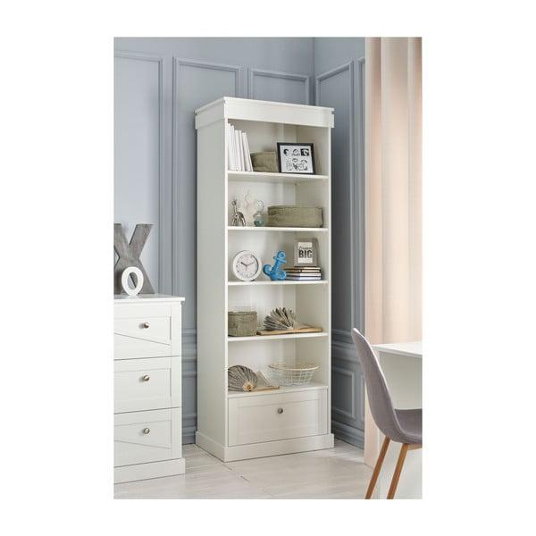 Bílá dětská skříň Pinio Marie, výška 205 cm