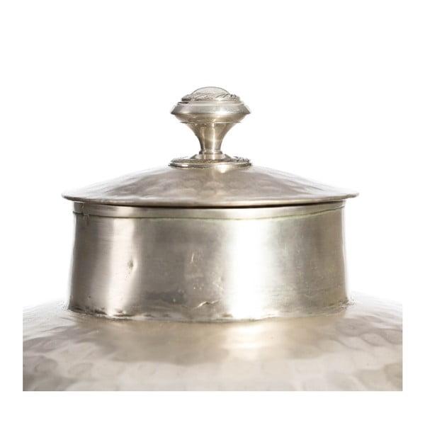 Váza ve stříbrné barvě Denzzo Lilith