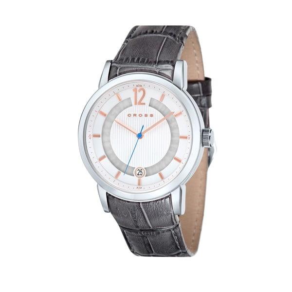 Pánské hodinky Cross Cambria Silver White, 42.5 mm