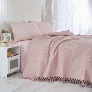 Cuvertură pentru pat Dusty Rose, 220 x 240 cm