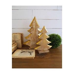 Sada 2 dekorativních dřevěných stromků Orchidea Milano Pinetrees Duro