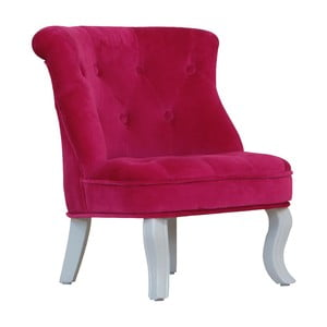 Dětské minikřeslo Pink Velvet