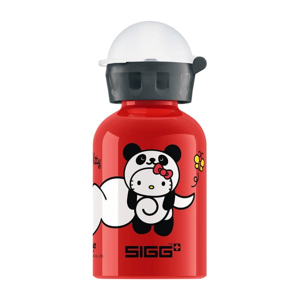 Lahev Hello Kitty Panda, red