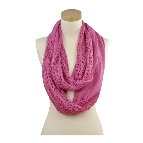 Šátek Carisa Pink