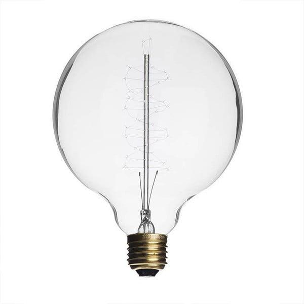 Žárovka Edison Clear G95 / E27 / 40W