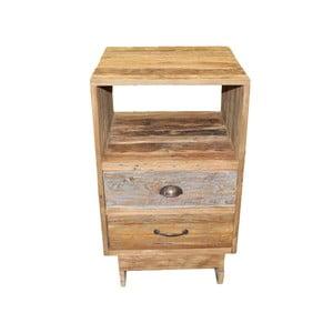 Komoda se 2  zásuvkami z teakového dřeva HSM collection Baliaga