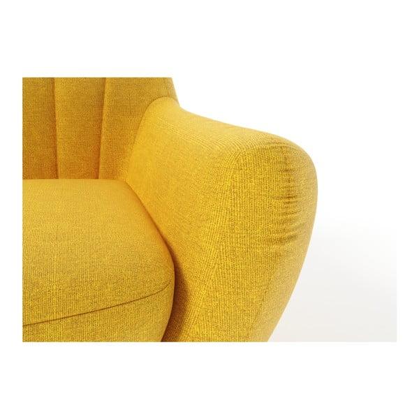 Žluté křeslo Wintech Azzurre