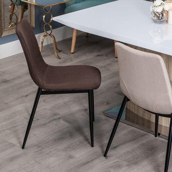 Židle Simplicity, čokoládová