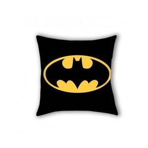 Černý bavlněný dětský polštář Halantex Batman, 40 x 40 cm