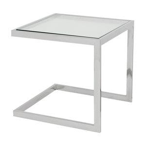 Odkládací stolek ve stříbrné barvě Artelore Lawson
