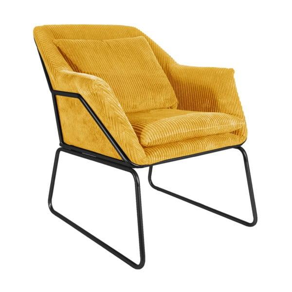 Glam sárga fotel - Leitmotiv