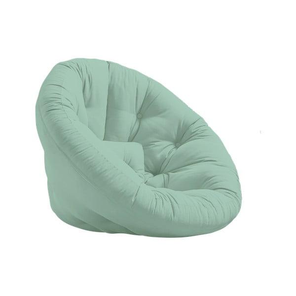Fotoliu extensibil Karup Design Nido Mint, verde mentă