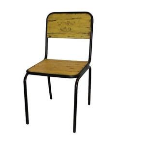 Židle Industrielle Jaune