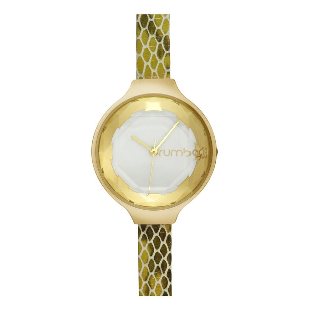 Dámské hodinky ve zlaté barvě Rumbatime Orchard Gem Exotic in Amazon b42d2cba47c