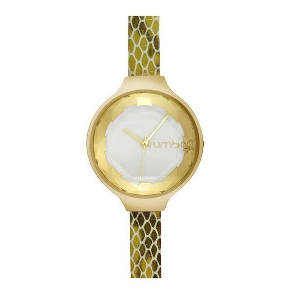 Dámské hodinky ve zlaté barvě Rumbatime Orchard Gem Exotic in Amazon