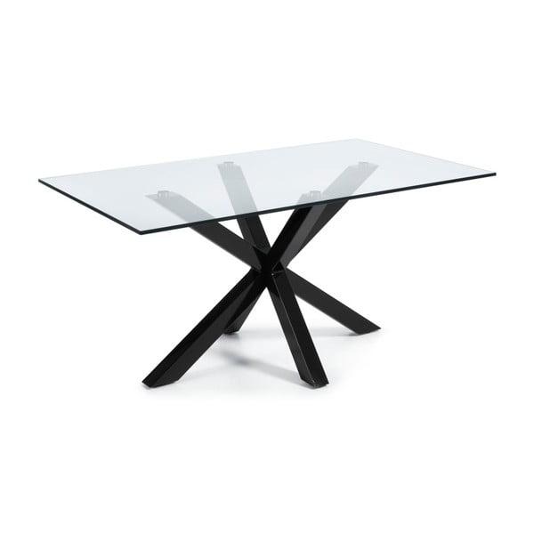 Jídelní stůl Arya, 180x100cm, černé nohy