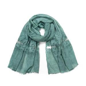Zelený šátek Art of Polo Goro