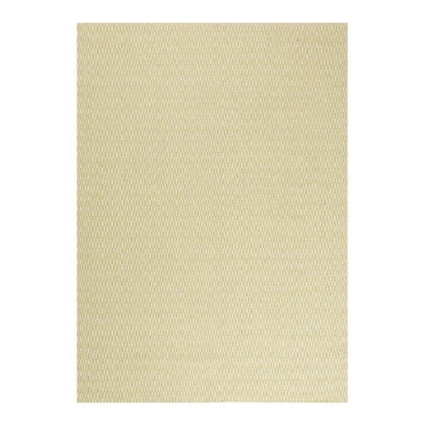 Vlněný koberec Charles Lime, 140x200 cm