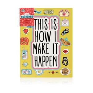 Zápisník NPW Make It Happen