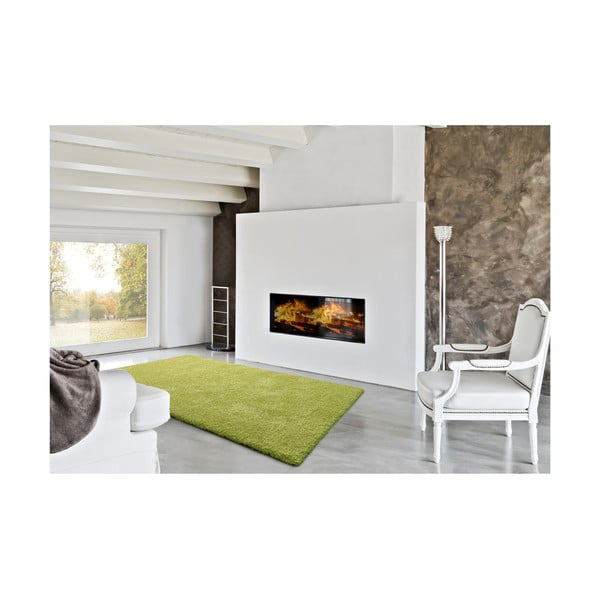 Zelený koberec Universal Catay, 125 x 67 cm