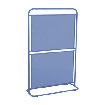 Paravan metalic pentru balcon ADDU MWH, 124 x 80 cm, albastru