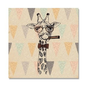 Obraz Really Nice Things Giraffe, 50 x 50 cm