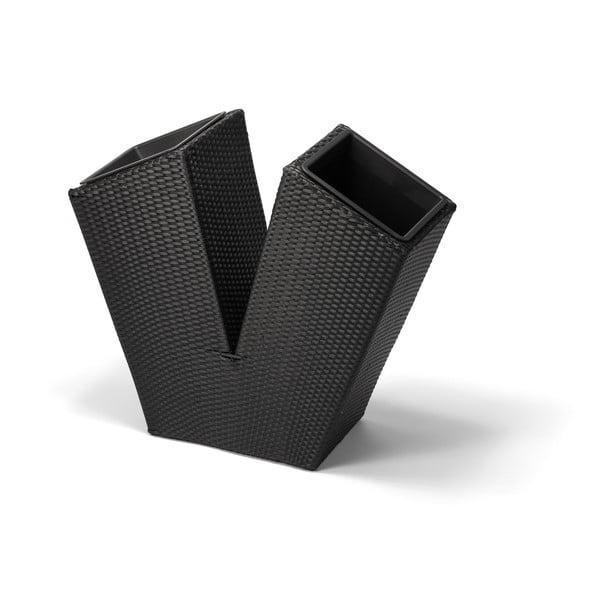 Ghiveci de exterior Timpana Florita, negru
