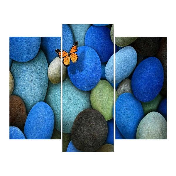 3dílný obraz Stones
