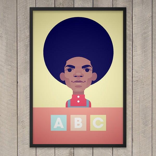 Plakát ABC, 29,7x42 cm