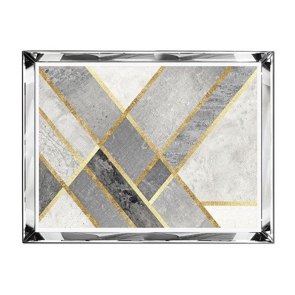 Nástěnný obraz JohnsonStyle The Golden & Marble, 71 x 91 cm