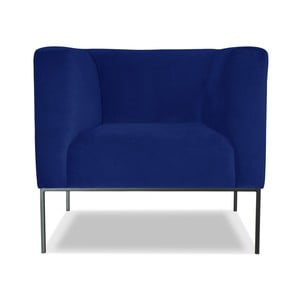 Modré křeslo Windsor &Co. Sofas Neptune