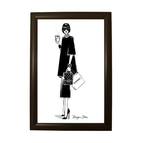 Poster cu ramă Piacenza Art Chanel
