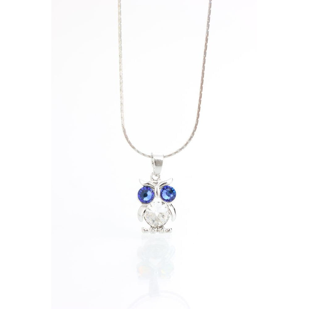 Náhrdelník s krystaly Swarovski® Yasmine Wise Owl