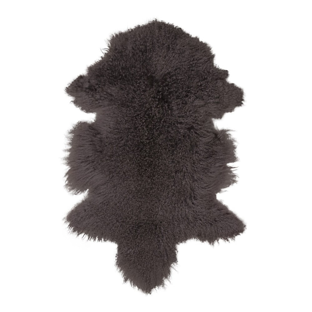 Hnědá kožešina z mongolské ovce House Nordic