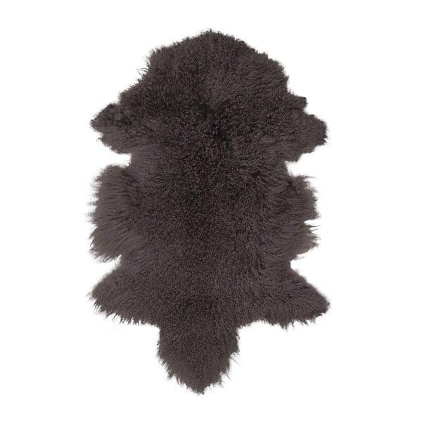 Brązowa skóra z owcy mongolskiej House Nordic