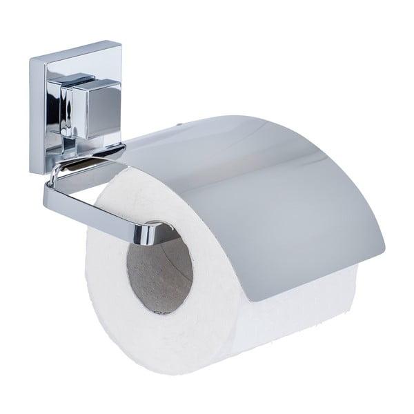 Uchwyt na papier toaletowy z przyssawką Wenko Vacuum-Loc, 14x13 cm