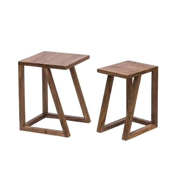 Set 2 stolků Sgabelli