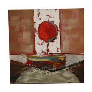 Olejová malba Coracao, 90x180 cm