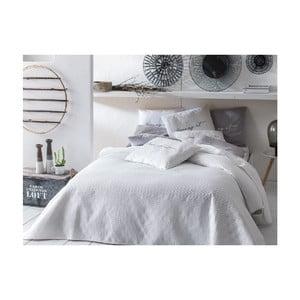 Bílý přehoz přes postel Slowdeco Buenos, 170 x 210 cm