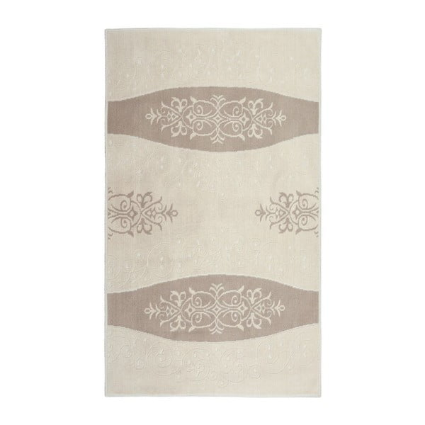 Bavlněný koberec Decor 80x150 cm, krémový