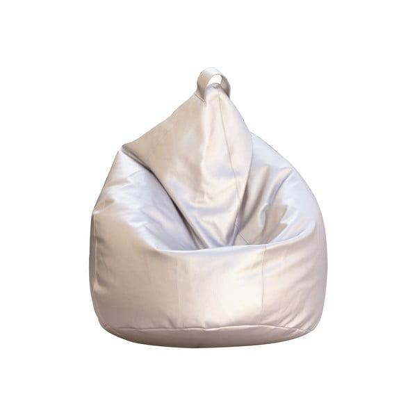 Sedací vak Bag Eco, stříbrný