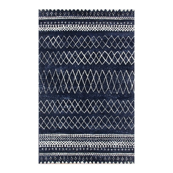 Covor albastru Eco Rugs Sea Captain, 120 x 170 cm