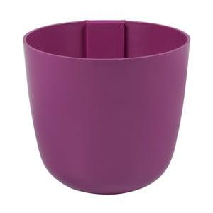 Magnetický květináč Bowl 12x11x12 cm, fuchsiový
