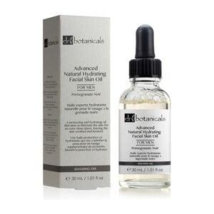 Pleťový olej pro muže Dr.Botanicals Pomegranate Noir Advanced Natural Skin, 30ml